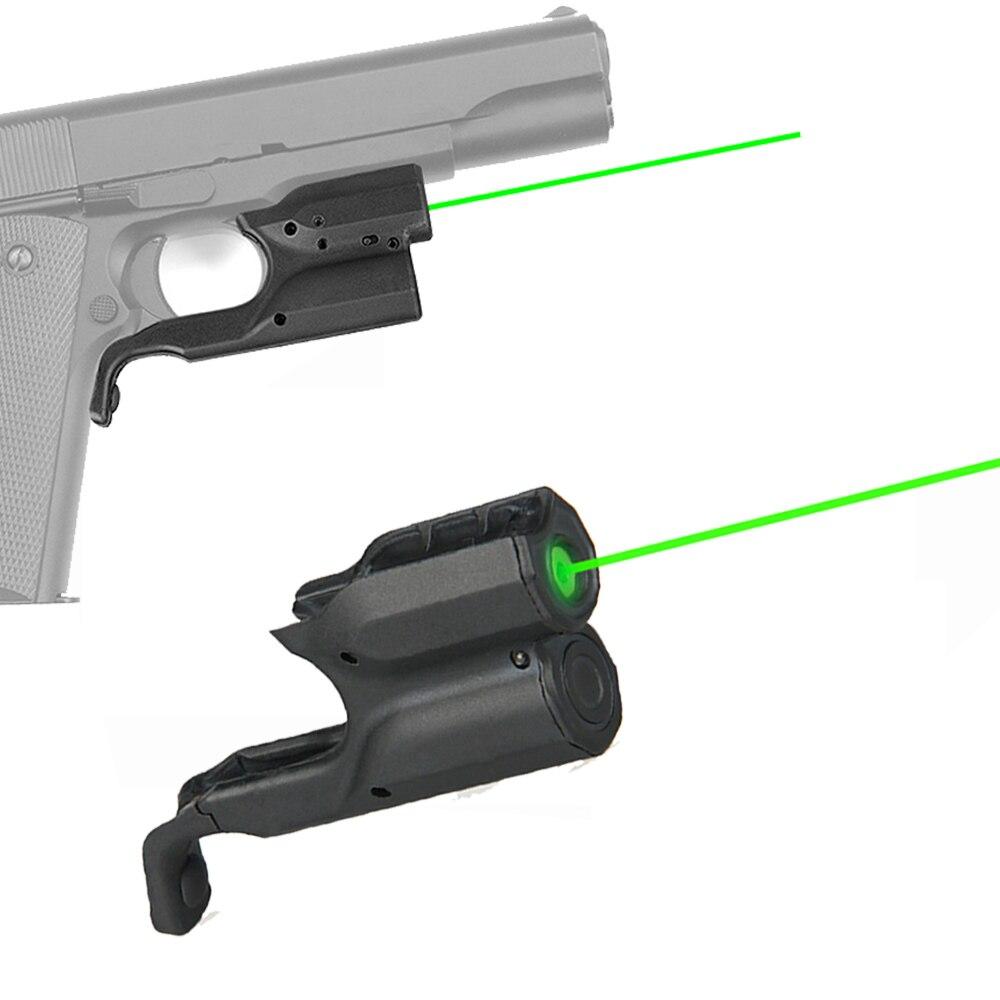 Pistol Gun Laser Sight Hanging Green Red Dot & Laser For Glock 1911 M92 Shooting Hunting-0