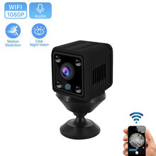 1080P HD Mini Wifi IP Camera Home Security IR P2P Camera DVR Night Vision  Remote Monitor Phone App Baby Monitor Wholesale camsoy c6 mini camera for baby home security wifi ip control by mobile phone with night vision hd 720p dvr cam new gadgets 2017