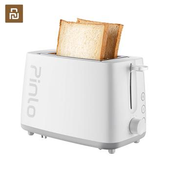 Podwójna funkcja rozmrażanie i pieczenie chleba toster elektryczny ze stali nierdzewnej śniadanie szybki ekspres tosty piekarnik gospodarstwa domowego tanie i dobre opinie Deerma B100 500g CN (pochodzenie) 801 w 220 v 313*240*248mm STAINLESS STEEL PL-T075W1H Pieczenia Brak Mechaniczny minutnik