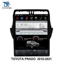 17 inch Tesla style Screen Android 9.0 Car GPS Navigation For TOYOTA PRADO 2018 2025 Carradio multimedia player head unit