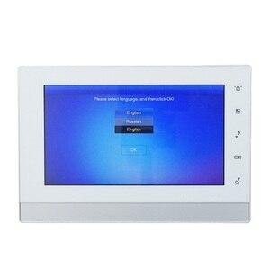 Image 3 - DH многоязычный VTH1550CH 7 дюймовый сенсорный внутренний монитор, монитор ip звонка, видеодомофон, Версия прошивки SIP