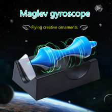 Creative Decoration Magnetic Suspension Gyro Magnet Perpetual Instrument Office Desktop Home Decoration Crafts Decoration(China)