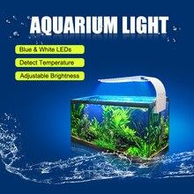 Senzeal Aquarium Led Lighting Super bright M3/X3/X5/X7/X9 Clip-on Slim Light Fish LED Lamp 220V/110V Tank