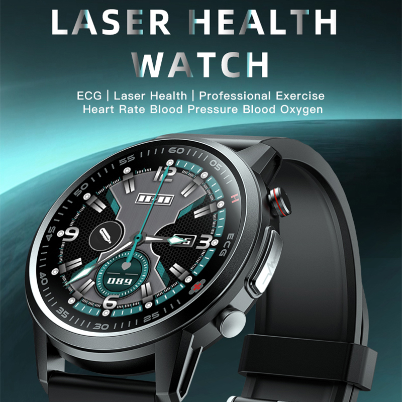 Permalink to 2021 650nm Laser Therapy Smart Watch ECG&PPG Body Temperature Waterproof Men Sport Fitness Watches For Android Apple Xiaomi F800