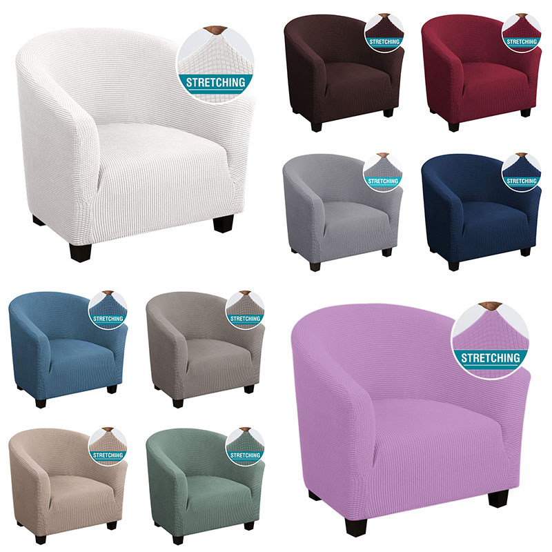 Fodera elasticizzata VIP per poltrona divano divano soggiorno 1 sedile divano fodera per mobili monoposto divano poltrona fodera elastica