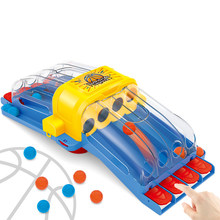 Stress Relieve Catapult Finger Basketball Toy for Parent-child Interaction Shooting Desktop Table Games Educational Puzzle Toys