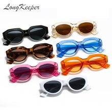Triangle Sunglasses Lunette-De-Soleil Women Luxury Brand Vintage Oculos Cat-Eye Longkeeper