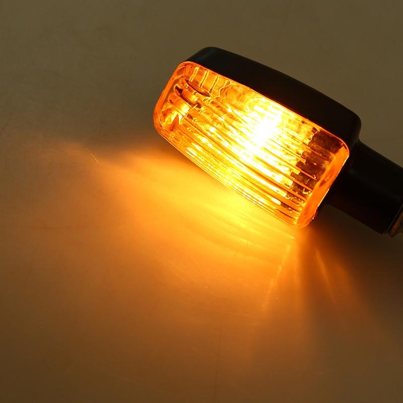 lowest price POSSBAY 4Pcs Universal Motorcycle Turn Signal Lights Blinker Bulb Amber Flasher Light for Honda Kawasaki Suzuki Yamaha Lamp