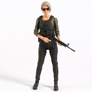 Image 4 - NECA Terminator 6 темная судьба старый телефон/Сара Коннер экшн фигурка Коллекционная модель игрушка
