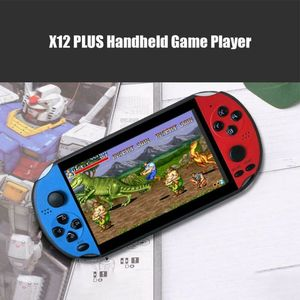 "Image 5 - X12 5.1 ""צבעוני מסך רטרו משחק קונסולת 128Bit כף יד משחק מארח מכונה"