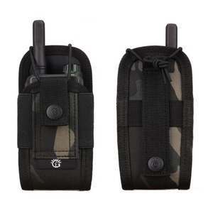 Military Airsoft Tactical Molle Radio Pouch Walkie Talkie Wasit Bag Holder Pocket Bag Army Shooting Hunting Magazine Mag Pouch