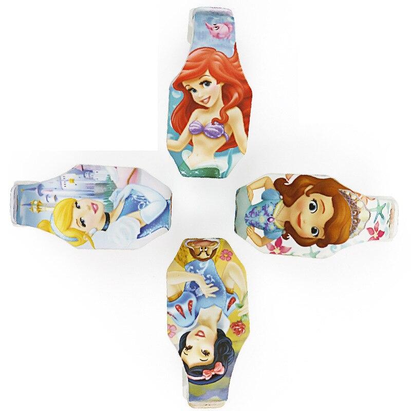 Дисней Микки Маус Наручные часы Марвел Цифровой Часы Капитан Человек-Паук Принцесса Мультфильм Мальчик Часы Дети Подарки девочки милые часы