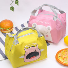 New Baby Cartoon Food Insulation Bag Portable Milk Bottle Thermo Food Bag Outdoor Lunch Bag Mummy Bags Insulation Package(China)