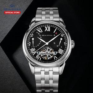 Image 4 - Seagull mechanical watch 40mm high quality watch automatic mens business watch waterproof mechanical watch 816.522