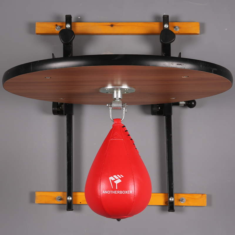 Mma PU Boxing Training Punching Bag Professional Fitness Muay Thai Double End Boxing Speed Ball Pear Inflatable Boxing Bag