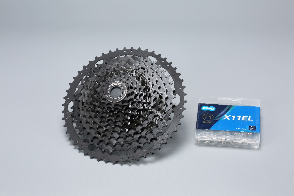 11s vtt groupe vélo 11-50T Cassette levier de vitesse arrière dérailleur chaîne 11 vitesses vélo groupe pour SRAM Shimano XT M8000 Sunrace - 6