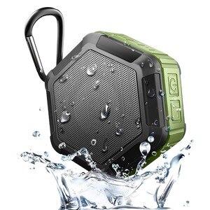 Image 1 - 充電式ミニポータブルアウトドアスポーツワイヤレスIP67防水のbluetooth 4.2 + edrスピーカーシャワー自転車スピーカー