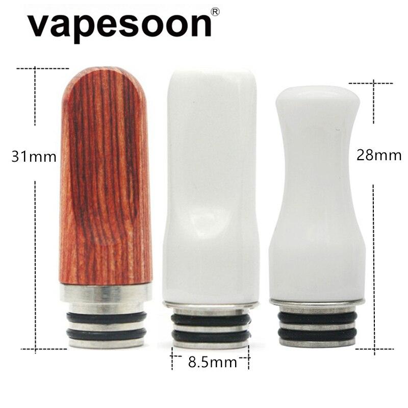 Electronic Cigarette 510 Drip Tip for 510 Atomizer Vape Vaporizer Fit Melo 3 Mini Melo 5 Tank IJust S Kit etc