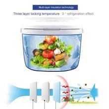 Kuulee открытый тепловой герметичный контейнер портативный морозильник для хранения свежих продуктов