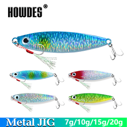 Metal Jig Jigging Lead Fish Spoon Bass Bait