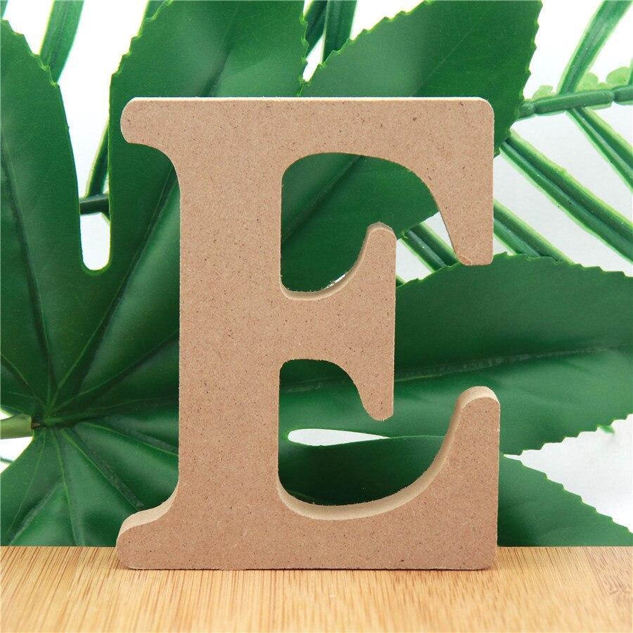 Деревянные буквы алфавита с именем, 1 шт., 10 см, дизайнерские художественные поделки, стоячие буквы «сделай сам», буквы на день рождения, вече...