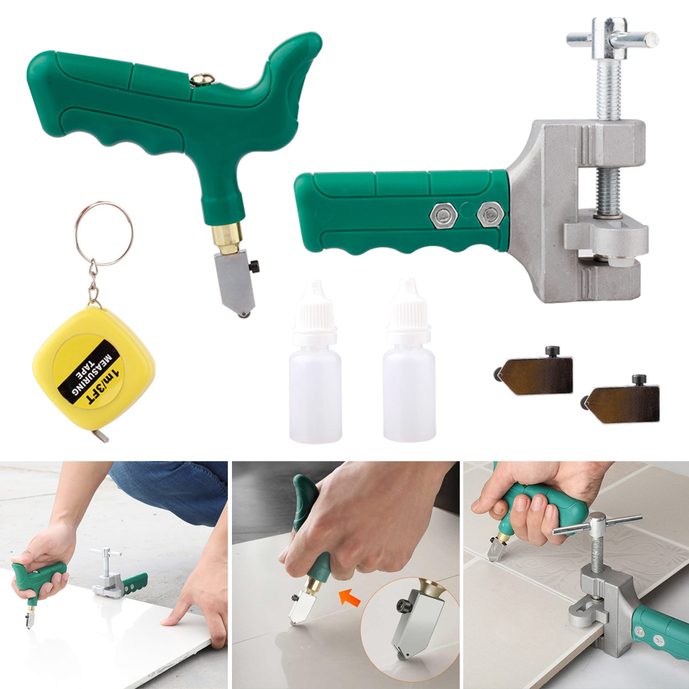 Glass Tile Opener Hand-Held Large Wheel Multi-Function Durable Roller Cutter GHS99