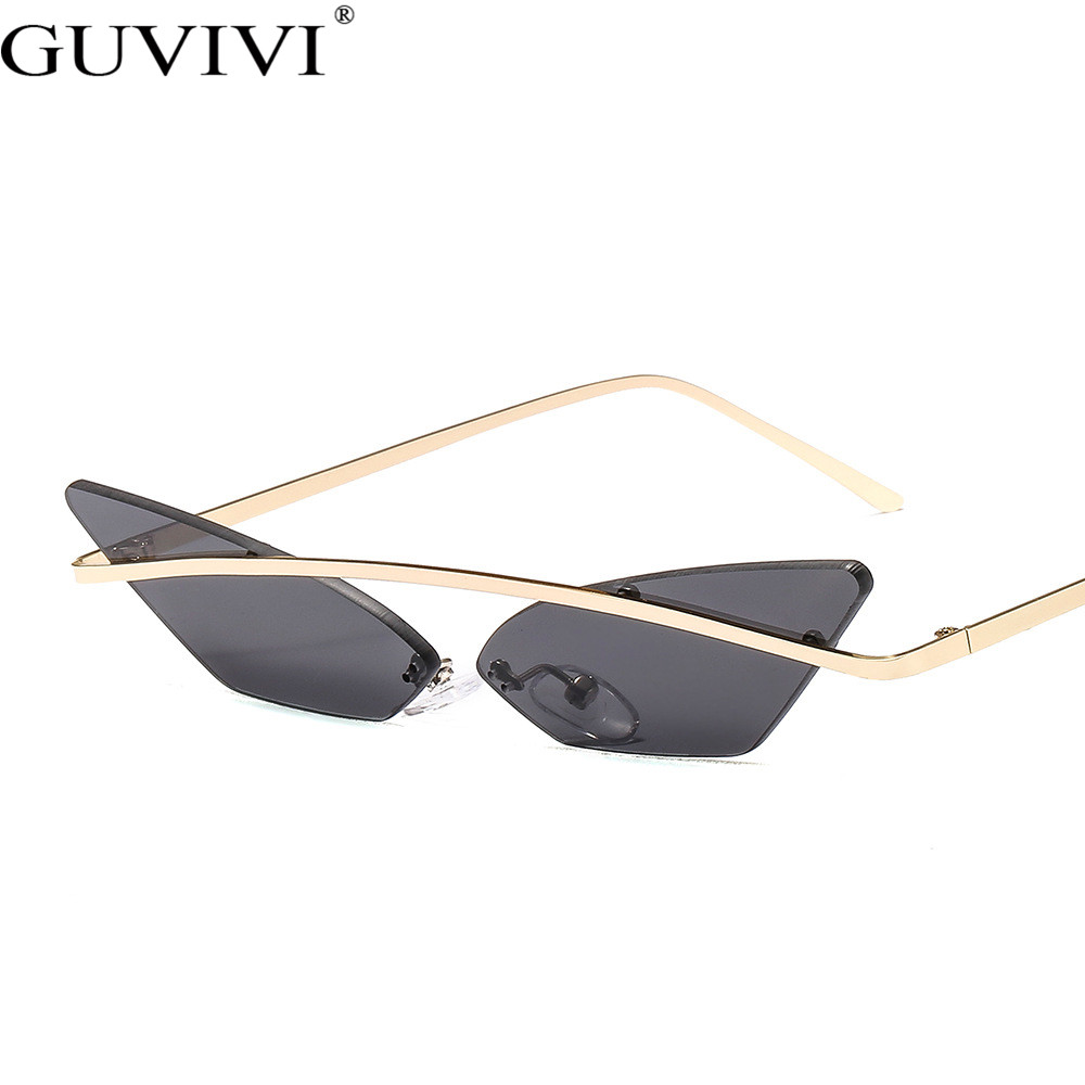 Rimless Steampunk Sunglasses Women Luxury Brand Designer Sunglasses Men Retro Vintage Sunglasses Eyewear Frameless UV400
