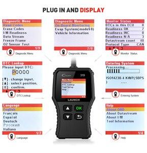 Image 5 - Launch X431 Creader 319 CR319 Auto Code Reader Full OBDII EOBD Automotive Diagnostic Tool OBD2 Scanner as Creader 6001 CR3001