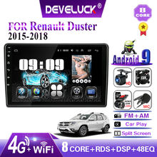 Develuck 2 din Android Car Radio Multimedia Video Player Navigation GPS For Renault Duster 2015 2016 2017 2018 2din IPS 2 din AM(China)