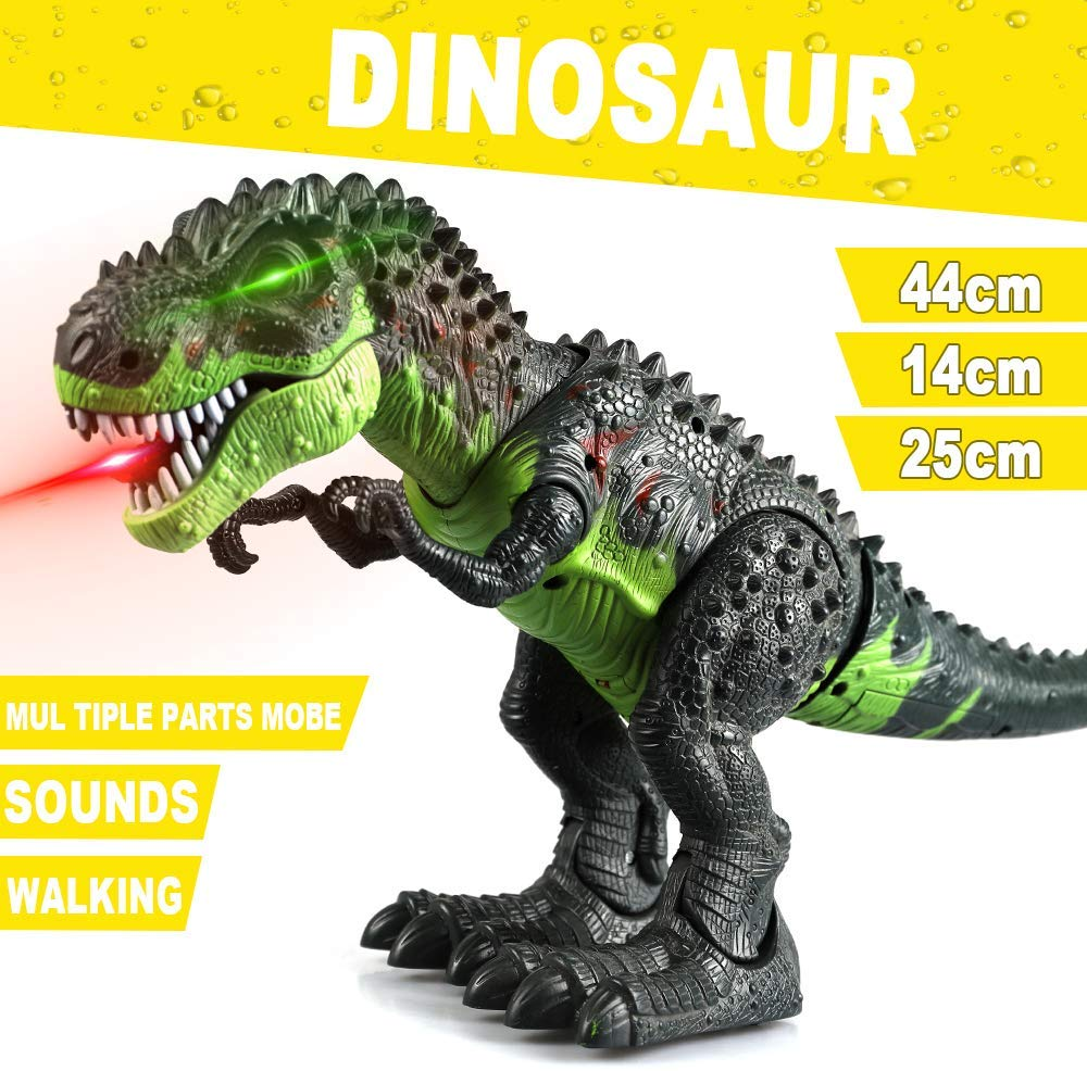 Dinosaur Simulation Walks Toy Model Walking Sound High Quality Lively And Interesting Toy Perfect For Birthday Christmas Gifts