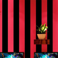 beibehang Karaoke special vertical stripes clothing hairdressing barber shop fashion modern Internet cafe wallpaper