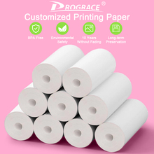 Thermal-Printing-Paper PROGRACE for Kid Camera Kid's Girl's Gift 9-Rolls