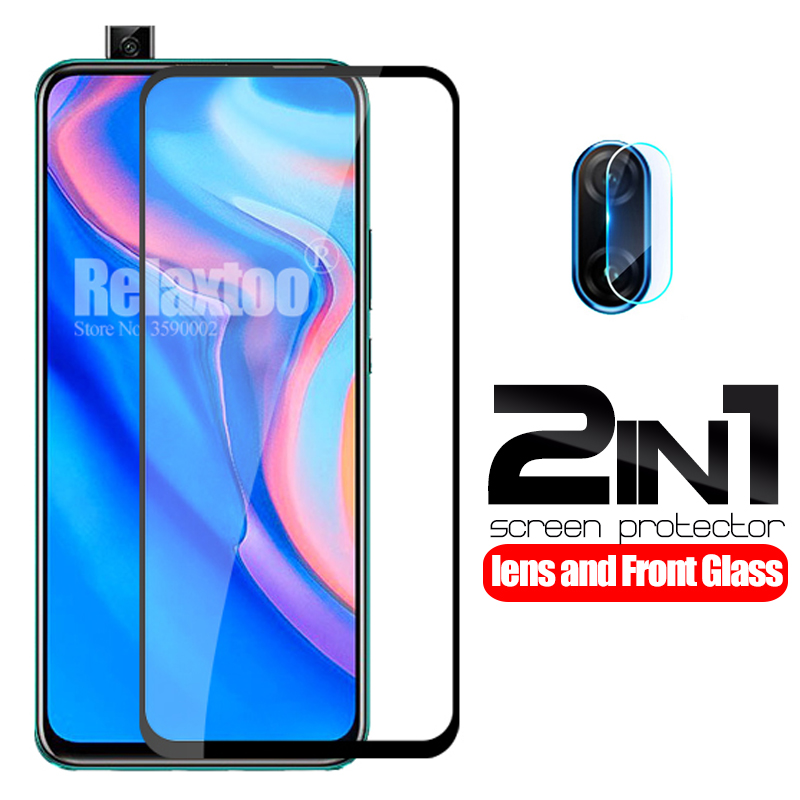 2 In 1 Camera Protective Glass For Huawei P Smart Z STK-LX1 Tempered Glass On Hauwei P Smart 2019 Psmart Z Lens Protector Film