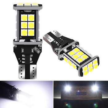 2X T15 W16W White LED Canbus Bulbs 921 912 LED Backup Parking Light for BMW 5 Series E60 E61 F10 E90 F11 X5 E70 Mini Cooper R56 image