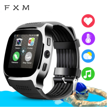 цена на FXM Children's Watches Bluetooth Touch Screen Smart Watch With Camera Bluetooth WristWatch For Android IOS Phone Digital watch