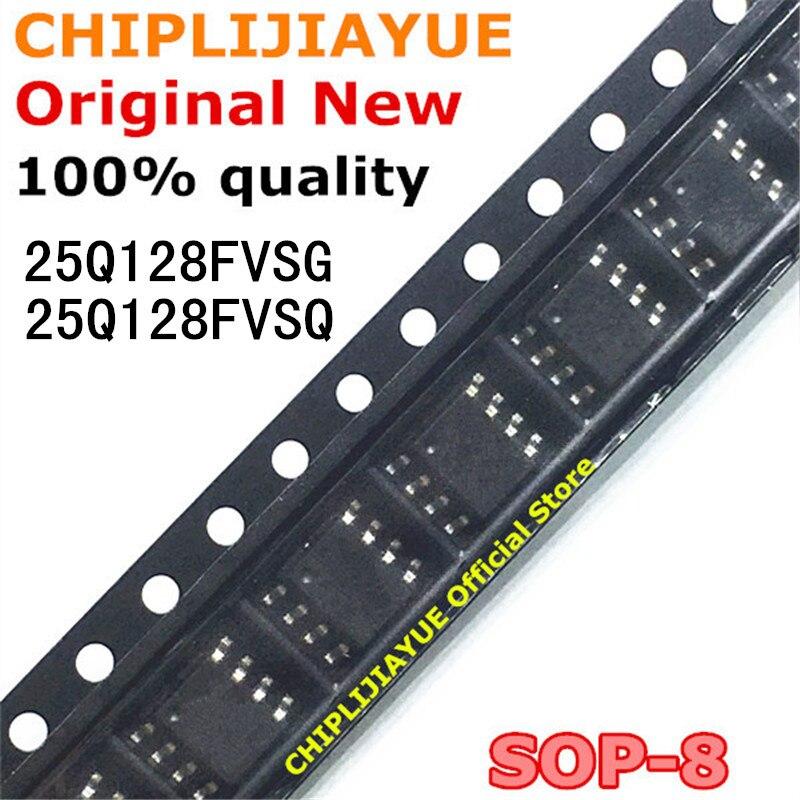2 pces 25q128fvsg w25q128fvsg sop smd 25q128fvsq w25q128fvsq sop 8 25q128 sop8 novo e original chipset ic work work ic chip  - AliExpress