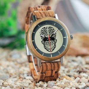 Image 5 - Bobo Vogel Horloge Man Houten Klaring Prijs Promotie Quartz Wristwatche Mannelijke Relogio Masculino Groothandel Hoge Kwaliteit
