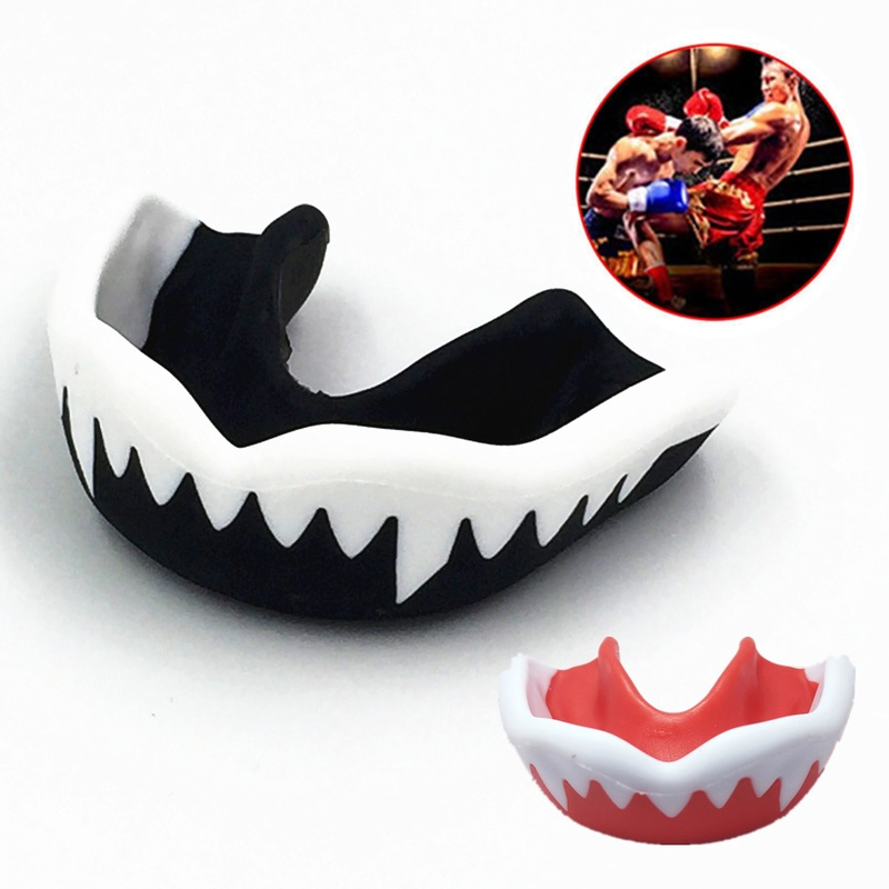 1PCs Mouth Guard Adult Karate Muay Safety Mouth Protective Unisex Thai Boxing Football Basketball Sports Soft EVA Teeth Guard