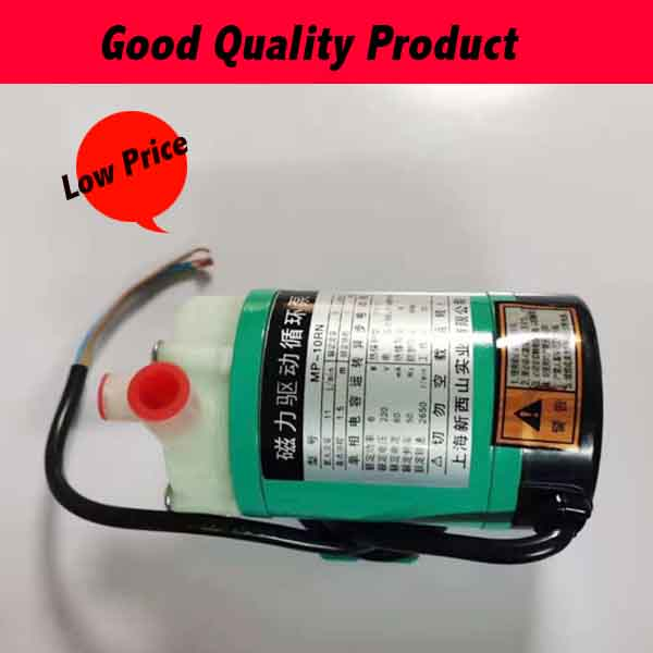 MP-10RN High Quality Magnet Driven Pump Acid/Alkali Resistant Pump Plastic Pump For Sucking Liquids With No Small Particles