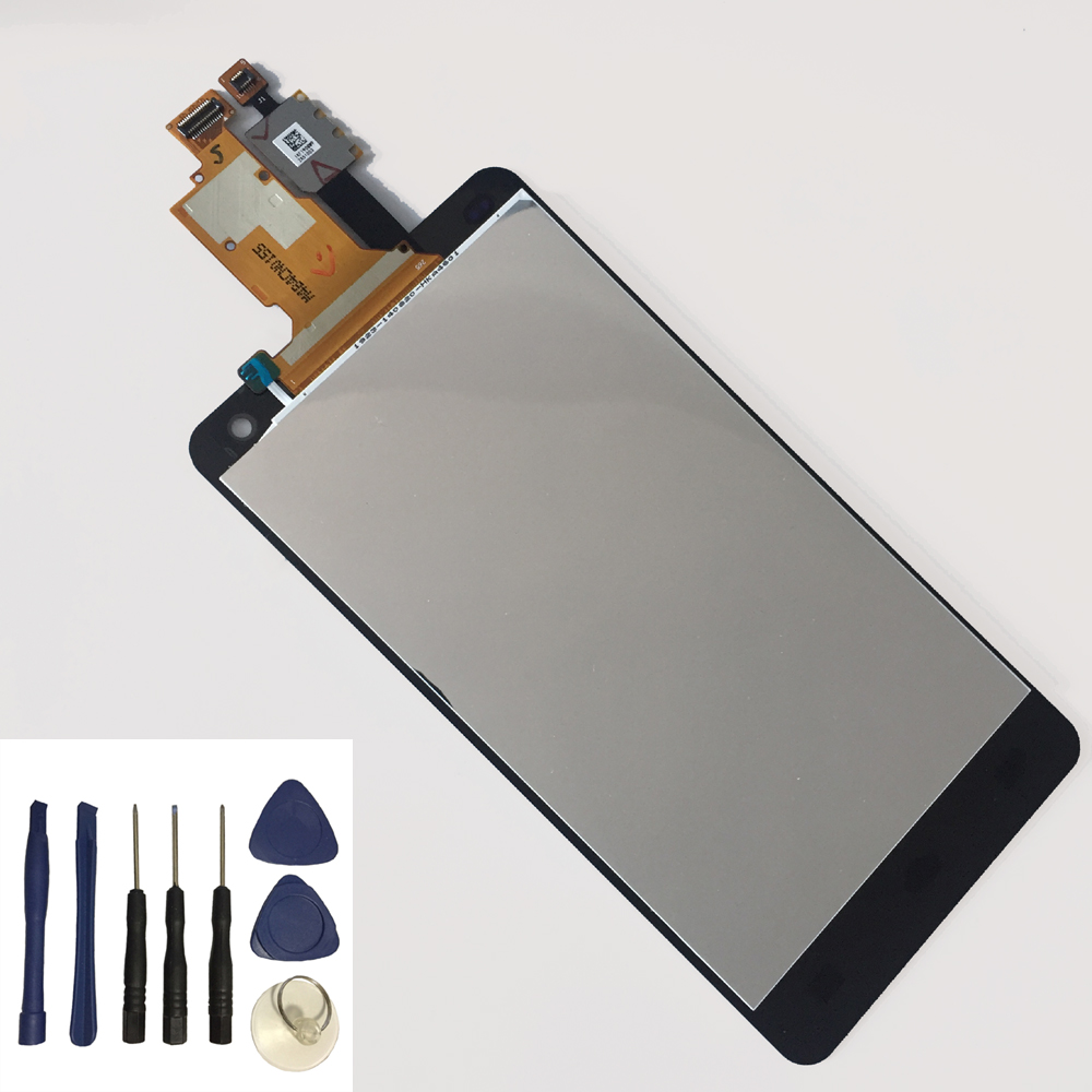 For LG Optimus G F180 E973 LS970 E975 E977 Touch Screen Digitizer + LCD Display Monitor Panel Module Assembly + Free Tools
