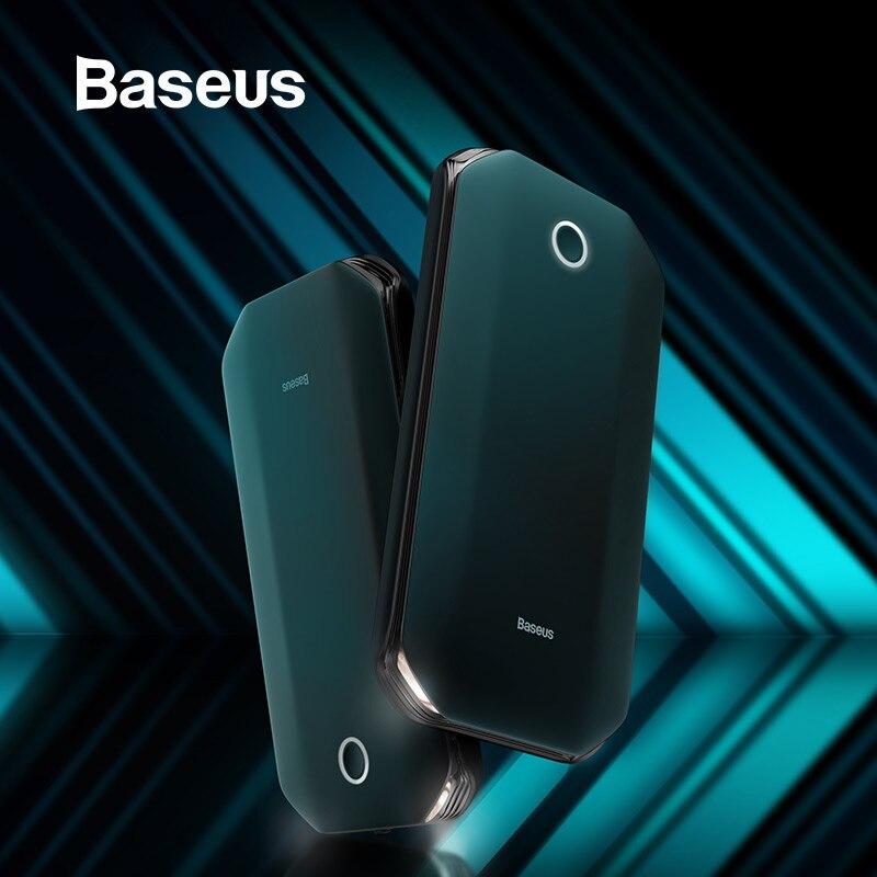 Baseus 8000mAh voiture saut démarreur batterie externe pour voiture batterie Booster 12V démarrage dispositif batterie externe avec SOS lumière saut démarreur