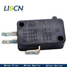 10PCS UM micro interruptor V-15-1C25 V-15-IC25 prata interruptor de microondas