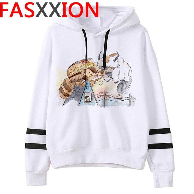 Totoro Studio Ghibli hoodies women streetwear grunge femme hoody sweatshirts hip hop streetwear 2