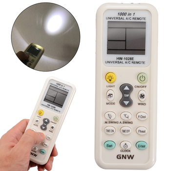 Universal LCD A/C Air Conditioner Remote Controller 8-10m Long Distance Air Conditioning Remote Control HW-1028E Remote Control image