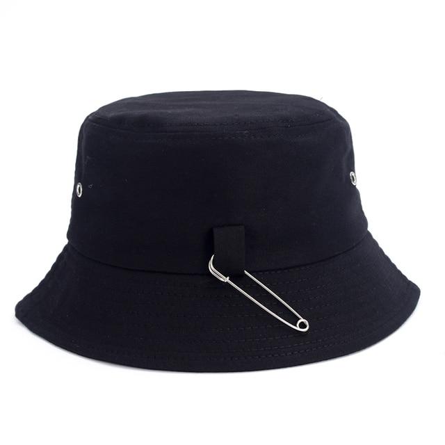 Jungkook Airport Fashion Pin Fisherman Hat 21