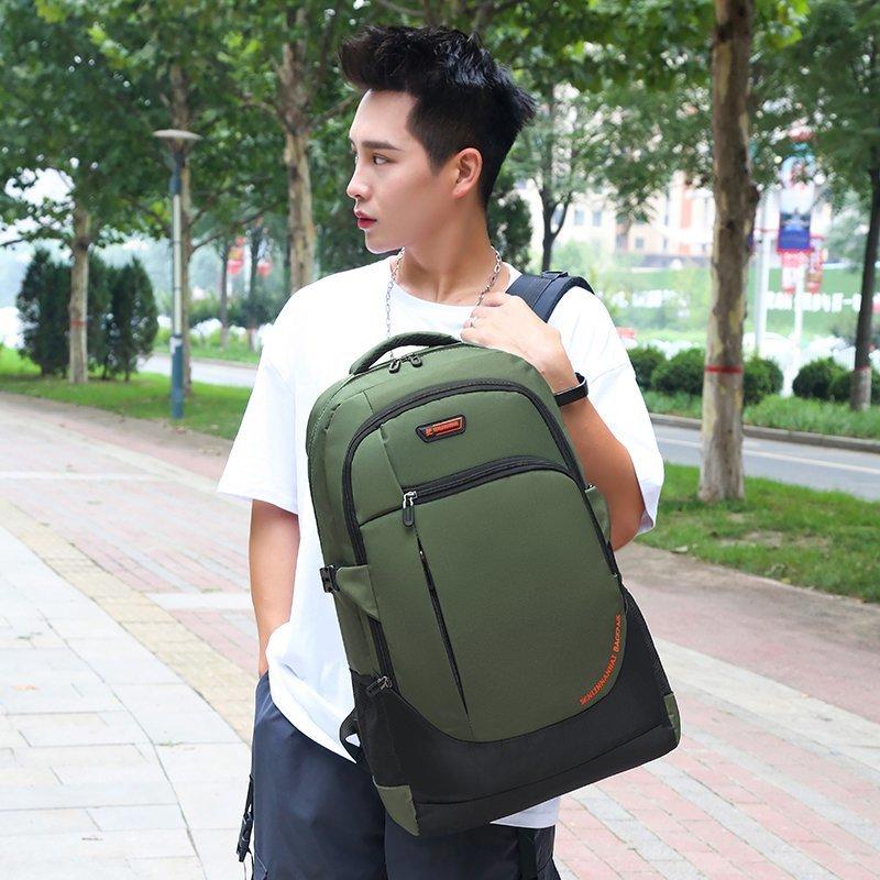 Mochila de nailon transpirable Unisex, bolsa de viaje de alta calidad, para deportes al aire libre, senderismo, Camping, color verde, 20l-40l