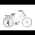 Велосипед Via Veneto VV790L CRUISER алюминий  6 скоростей  колеса 26 раз; 2 125-Бланка