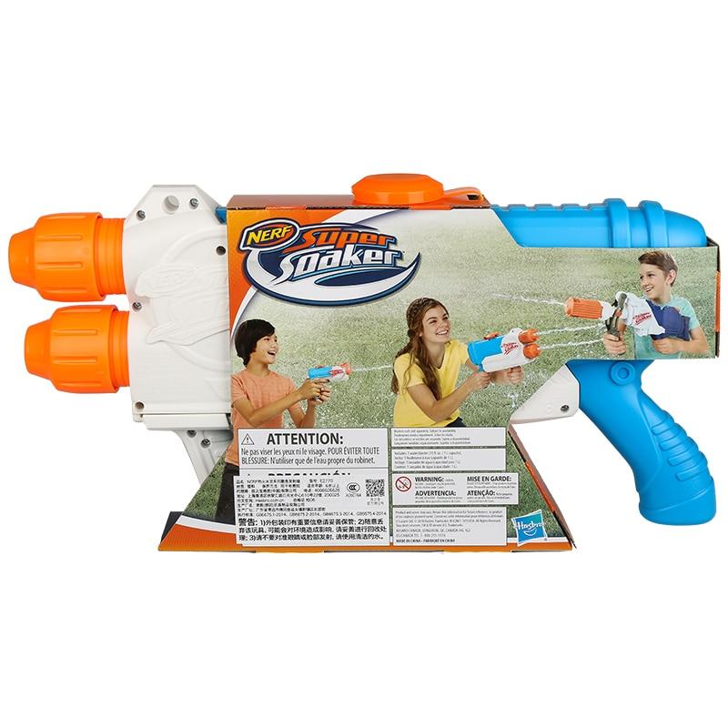 Funny Beach Water Gun Summer Kids Outdoor Long Range Double Nozzle Pistol Toys Bombero Water Gun Toy Nerf Children Gifts EE5SQ