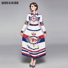 Женское винтажное платье трапеция Элегантное Длинное Платье