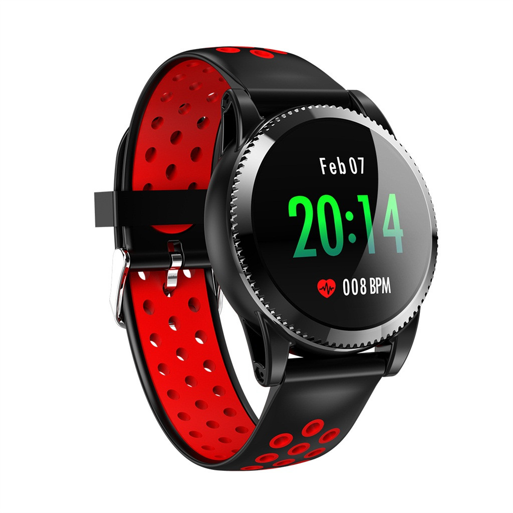 <font><b>Smart</b></font> Uhr Herz Rate Blutdruck Messen Sport Fitness Tracker Pedometer Facebook Wechat <font><b>Ip68</b></font> Wasserdicht 3 Colorus #20 #20 image